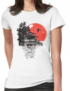 Jump And Fly Womens Fitted T-Shirt