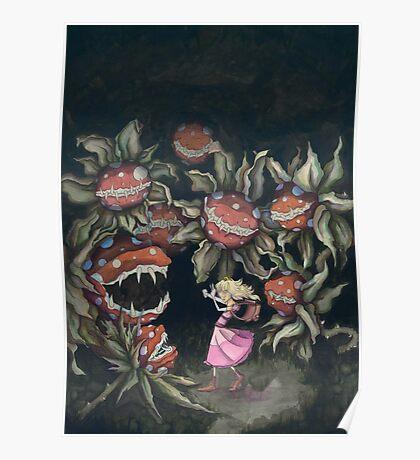 The Princess and the Piranha Plants Poster
