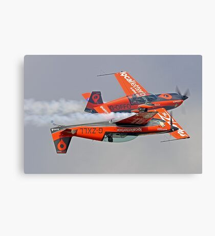 Blades 3 and 4 - Dunsfold 2014 Canvas Print