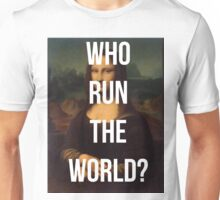 Run the World (Mona Lisa) Unisex T-Shirt