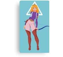 Princess Zelda (TV Series) Canvas Print