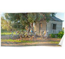 Family Bike Ride..... Poster