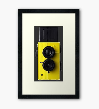 Camera Phone Case Framed Print