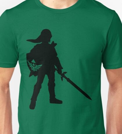 The Legend of Zelda Link Silhouette Unisex T-Shirt
