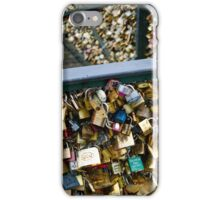 Paris Pont des Arts iPhone Case/Skin