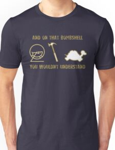 Exclusive Hamster, Jezza, and Captain Slow Awesome T-Shirt Unisex T-Shirt