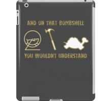 Exclusive Hamster, Jezza, and Captain Slow Awesome T-Shirt iPad Case/Skin