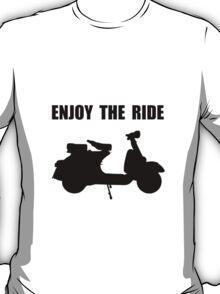 Enjoy Ride Moped T-Shirt