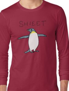 Shieet Penguin Long Sleeve T-Shirt