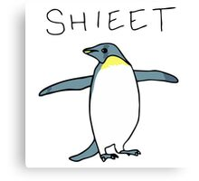 Shieet Penguin Canvas Print