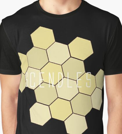 Scendles Hexagons Graphic T-Shirt