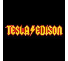 Tesla Edison Photographic Print