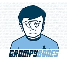Grumpy Bones by Chris Maghintay
