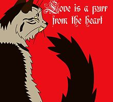 Love is a Purr from the Heart by Kayla Dibble