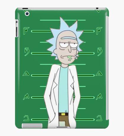 Rick Sanchez Mugshot iPad Case/Skin