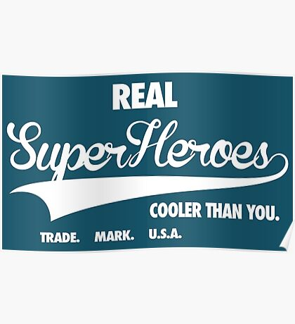 Superhero Superdry Poster