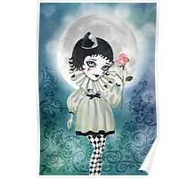 Pierrette Under the Icy Moon Poster