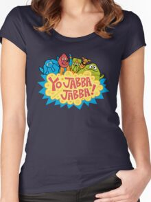 Yo, Jabba! Women's Fitted Scoop T-Shirt
