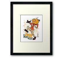 Jolly Harvest Framed Print
