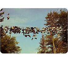 Shoe Strung Photographic Print