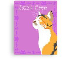 Jazz's Cave Canvas Print