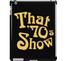 That 70s Show TV Logo iPad Case/Skin