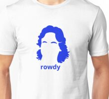 """Rowdy"" Roddy Piper Tribute (in BLUE) Unisex T-Shirt"