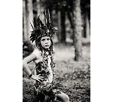 Child Forest Portrait 3 Photographic Print