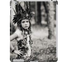 Child Forest Portrait 3 iPad Case/Skin