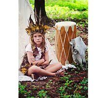 Child Forest Portrait 4 Photographic Print