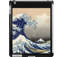 'The Great Wave Off Kanagawa' by Katsushika Hokusai (Reproduction) iPad Case/Skin
