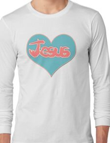 Love Jesus Christ Son of God Lord Long Sleeve T-Shirt