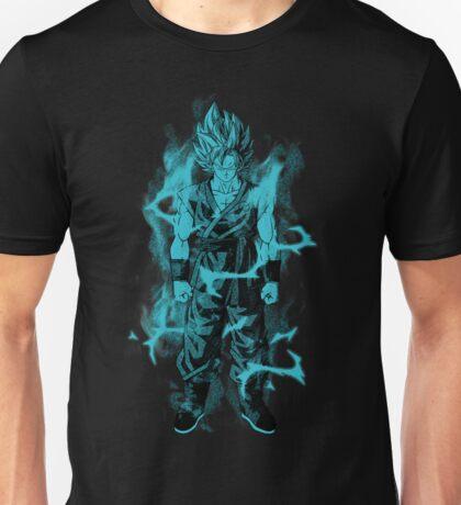 SSGSS Goku--Black and Blue Unisex T-Shirt