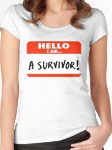Survivor Women's Fitted Scoop T-Shirt