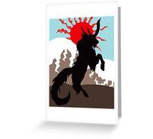 Shadow of the Kirin Greeting Card