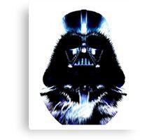 Dart Vader Star Wars Pixels Canvas Print