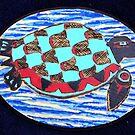 Northwest Native Turtle by Jennifer Ingram