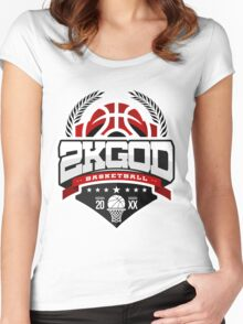 NBA 2KGOD Women's Fitted Scoop T-Shirt