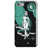 When you close your eyes iPhone Case/Skin