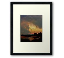 Breathe ( in the Air) Framed Print