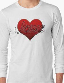 Love Jesus Christ Son of God Lord Long Sleeve T-Shirt