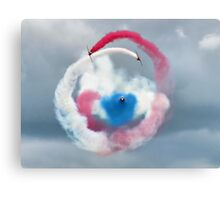 The Red Arrows - Head On  Canvas Print
