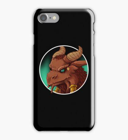 Dragonborn Cleric (Normal) iPhone Case/Skin