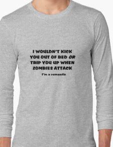 Zombie Bedroom Romance Long Sleeve T-Shirt