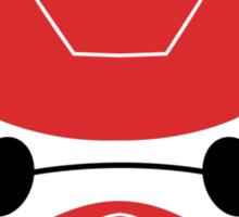 Baymax Head with Helmet Sticker