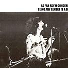 Patti Smith Gender Is A Drag  by katscarlett