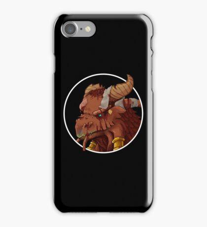Dragonborn Cleric (Injured) iPhone Case/Skin