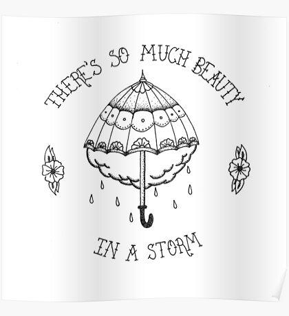 La Dispute Traditional Tattoo Umbrella Poster