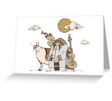 carnival group Greeting Card