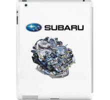 Subaru EJ20-25 Engine + Text iPad Case/Skin
